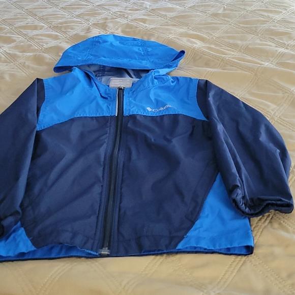 Toddler Boy Columbia windbreaker jacket